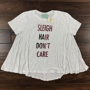 Judith March Christmas Saying Graphic T Shirt Top